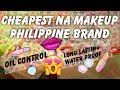 CHEAPEST PHILIPPINE MAKEUP BRAND | HAUL