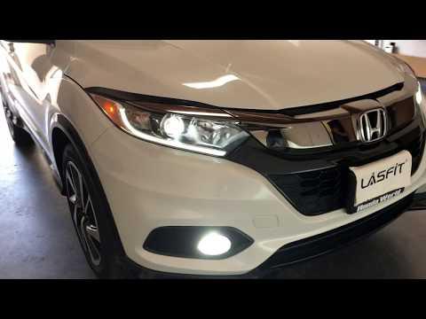 2019-honda-hr-v-sport-led-headlight-low-beam-&-fog-light-install