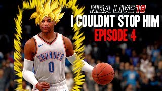 NBA LIVE 18 DYNASTY MODE EPISODE 4 | I COULDN