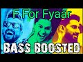 F FOR FYAAR BASS BOOSTED|F FOR FYAAR|F FOR FYAAR AUDIO|MANMARZIYAAN |ABHISHEK,TAPSEE,VICKY|MobiPie