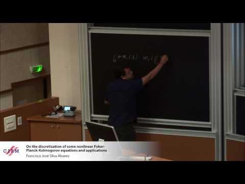 Francisco José Silva Álvarez: On the discretization of some nonlinear Fokker-Planck-Kolmogorov ...