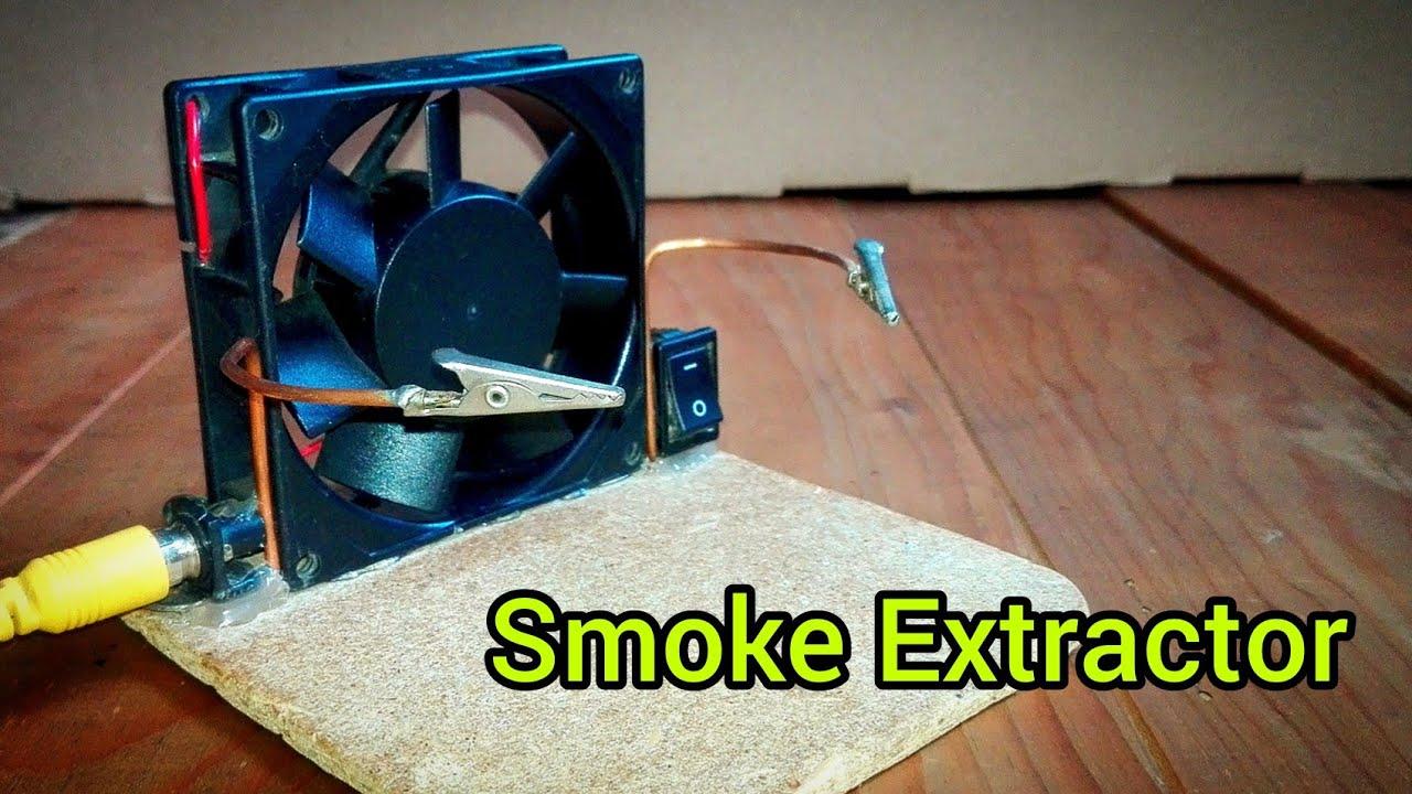Como Hacer Un Extractor De Humo Fácil Youtube