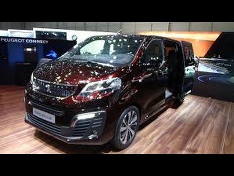 2017 Peugeot Traveller Interior And Exterior Youtube