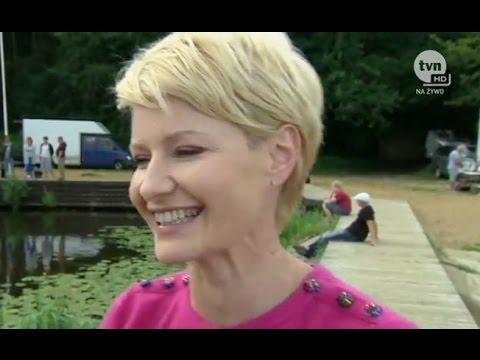"""Małgorzata Kożuchowska i Bartłomiej Topa o wyjątkowym miejscu nagrań serialu """"Druga Szansa"""""""