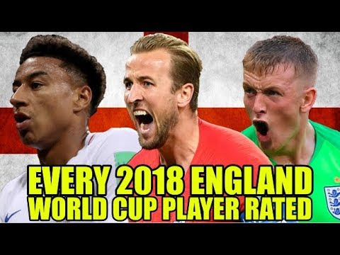England's World Cup Squad RATED