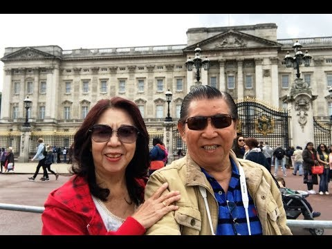 LONDON SIGHTSEEING (2): BUCKINGHAM PALACE & OTHERS.