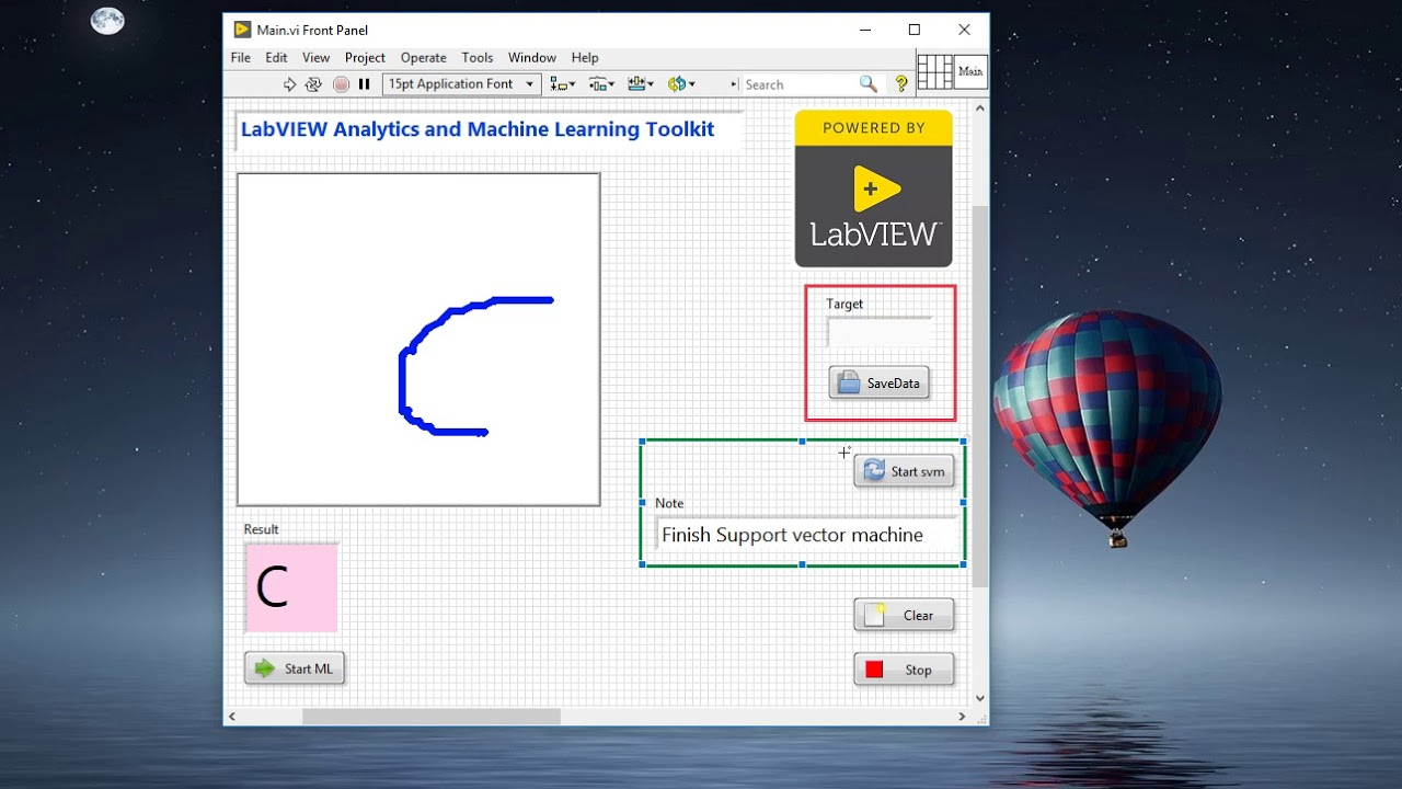 68  LabVIEW - Machine Learning Toolkit