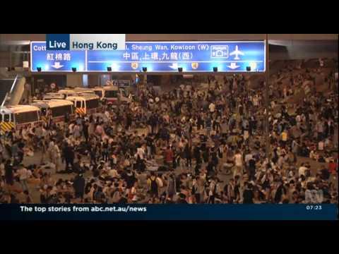 [OCLP佔領中環] ABC News Breakfast ABC 2014 09 29 05 58 20