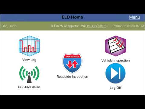 IPhone® And IPad® Roadside Inspection - KellerMobile® ELD