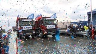 На участке трассы Тюмень - Омск открыли четырехполосное движение(На участке трассы Тюмень - Омск открыли четырехполосное движение., 2016-09-13T12:58:54.000Z)
