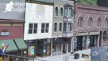 Downtown Telluride Live Camera