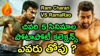 Jr NTR And Ram Charan Movies Box-Office Collections | Tollywood Movies Collections | With U