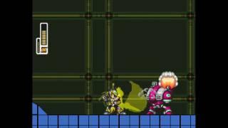 Megaman X - Protótipo - Storm Armor