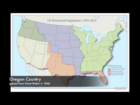 Westward Expansion of the US