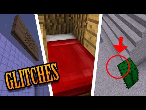Minecraft: 7 GLITCHES