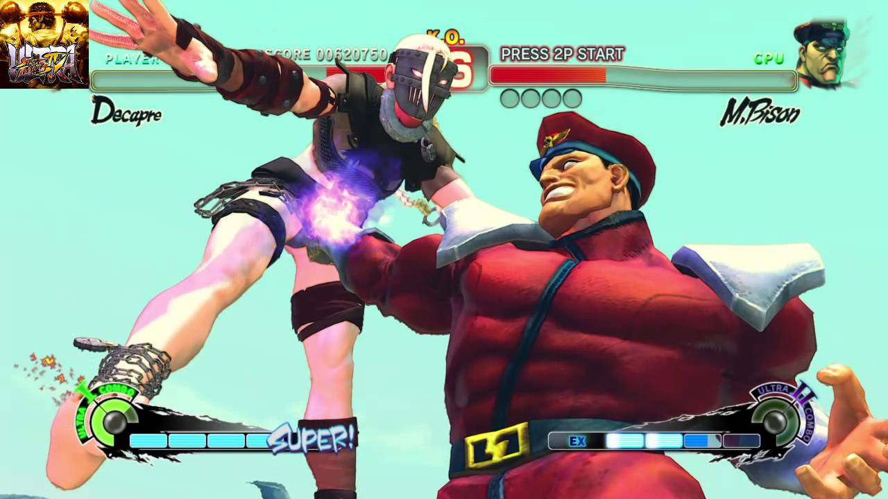 ULTRA STREET FIGHTER IV - M.Bison Ultra 1 - YouTube