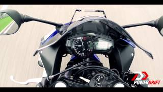 Yamaha YZF R3 | 0 to 60 0 to 100 | PowerDrift