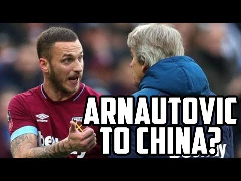 Chinese Club Bid £35m For Marko Arnautovic? Transfer Round Up