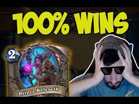 Hearthstone: 100% Winrate Prince C'thun Rogue