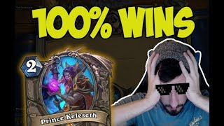 Hearthstone: 100% Winrate Prince C