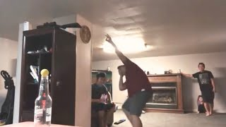 Saw a video on fb & we tried to attempt the game