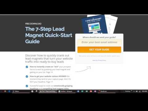 The 7-Step Lead Magnet Quick Start Guide