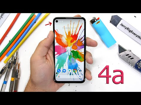 Plastic but durable: the Pixel 4a's extreme test