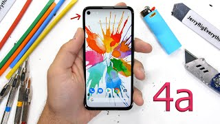 Google Pixel 4a Durability Test! - Simply Solid?