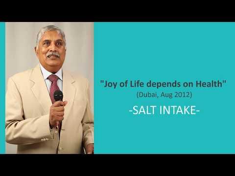"Dr B Bapuji at ""Joy of Life depends on Health""  (Dubai, Aug 2012)"