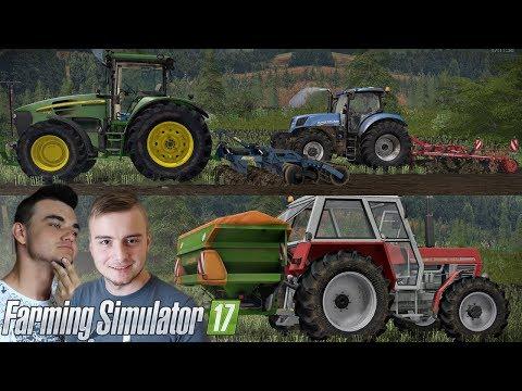 Poplon i gruberowanie na MP MAP v4 ☆ Farming Simulator 2017 MP #3 ㋡ Bronczek & MrAdamo15