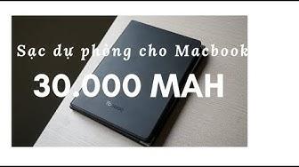 Sạc dự phòng Yoobao 30.000 mAh cực khủng cho Macbook, điện thoại