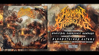 HUMAN BARBECUE - HOMICIDAL EMBRYONIC RAMPAGE [SINGLE] (2020) SW EXCLUSIVE
