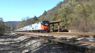 2015 New River Train At Prince, West Virginia