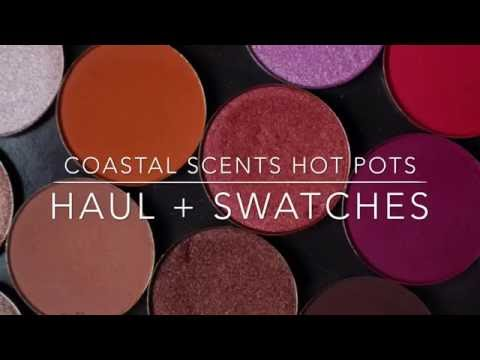 COASTAL SCENTS HOT POTS | HAUL + SWATCHES