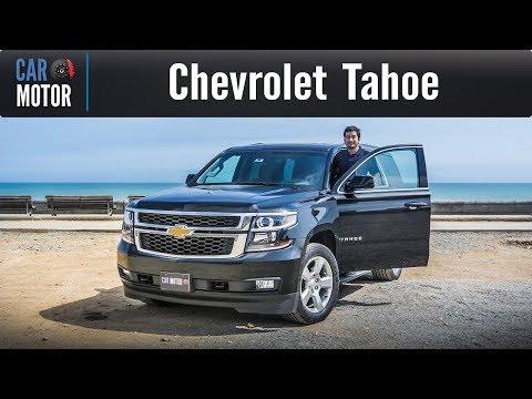 Chevrolet Tahoe - La SUV más grande que he conducido