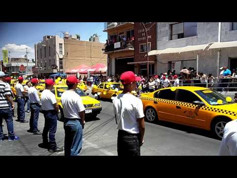 Yellow Taxis in MEXICO for 5th of May 2017