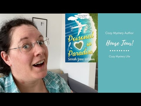 My House Tour! | Furnishing My House For Free | British Cozy Mystery Author Sarah Jane Weldon