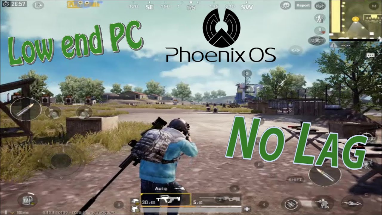 How to play PUBG MOBILE in Low end PC with Phoenix OS (No Lag)
