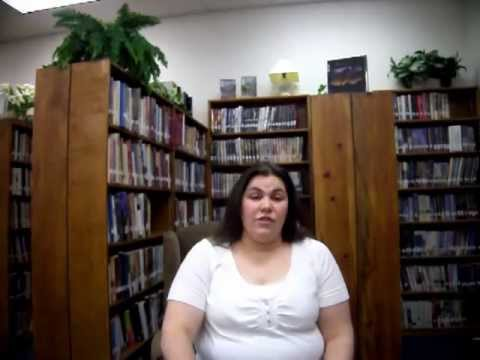 Library girl 1st video on making connection between public and school libraries.MOV