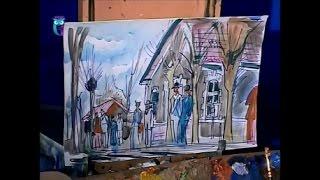 Уроки рисования (№ 139). Рисуем эскизы на тему повседневной жизни