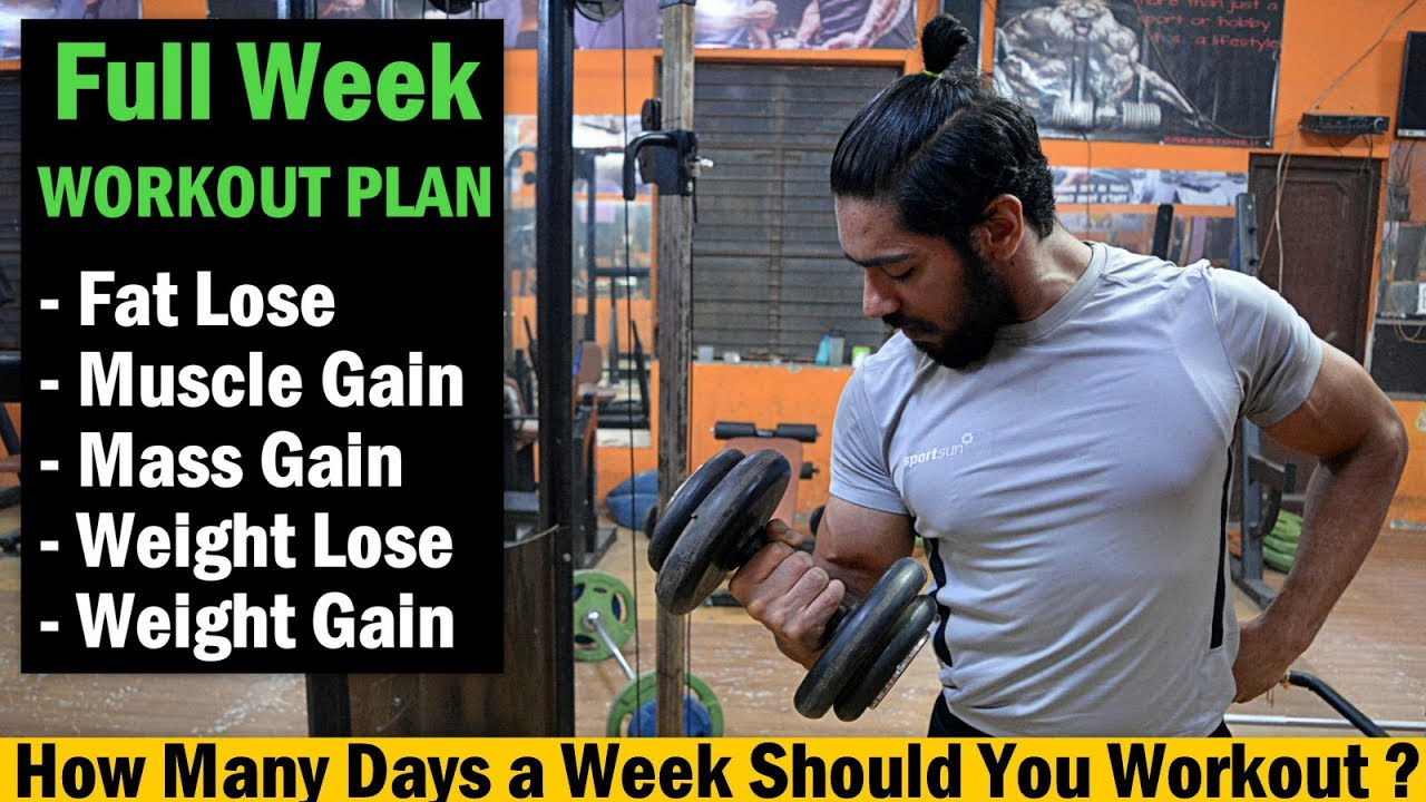 The best workout plan to lose weight and gain muscle