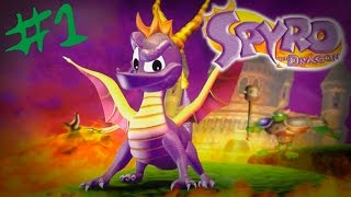 Spyro: The Dragon - Gameplay en español parte 1