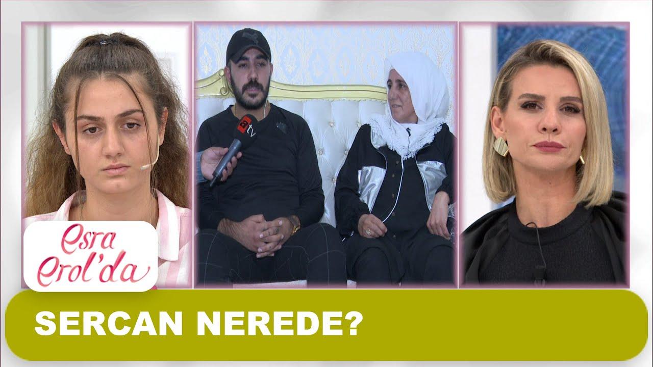 Sercan'ın ailesi canlı yayında! - Esra Erol'da 30 Ekim 2020