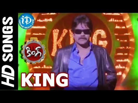 King Title Video Song - King Telugu Movie || Nagarjuna Akkineni || Trisha Krishnan || Srihari