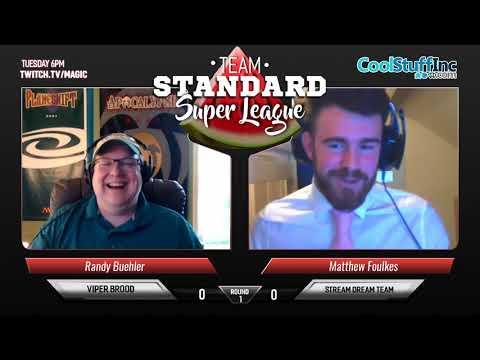 Team Standard Super League Week 1 - Viper Brood vs Stream Dream Team