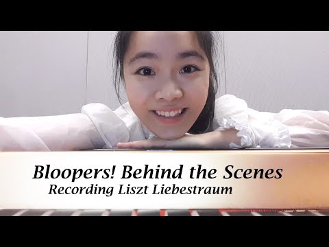 Recording Liszt Liebestraum, Bloopers! | Tiffany Vlogs #06