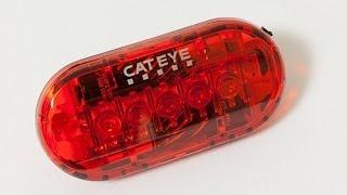 CATEYE 自転車用テール/セーフティライト TL-LD-155-R OMNI 5[オムニ5]