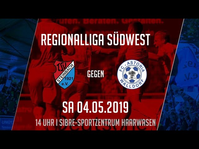TSV Steinbach Haiger - FC Astoria Walldorf 0:1 (Regionalliga Südwest 2018-19)