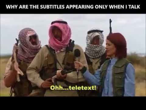 IRAQ RESISTANCE INTERVIEW FUNNY PARODY SUBTITLES