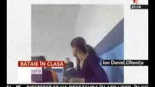 Bătaie între  elev şi profesoară la un liceu din Olteniţa